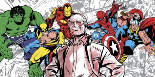 Стэн Ли и его герои