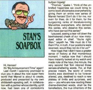 Один из выпусков Stan's Soapbox