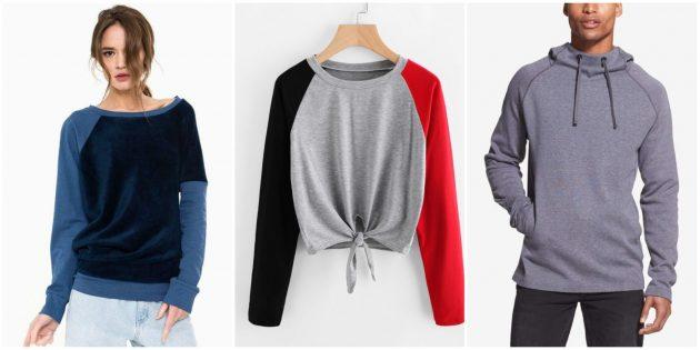 Купить одежду в интернете: Свитшоты