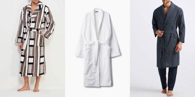 Что подарить папе: Домашний халат