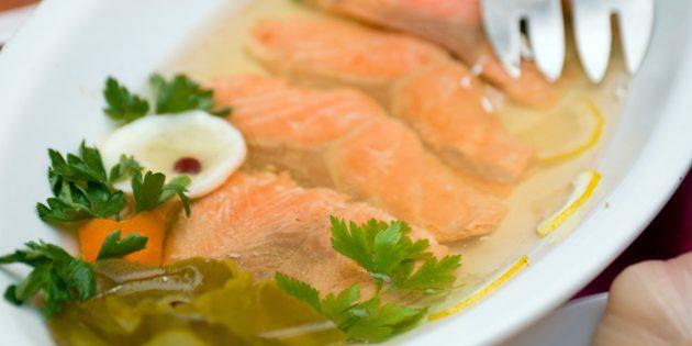 Рецепты: Холодец из рыбы