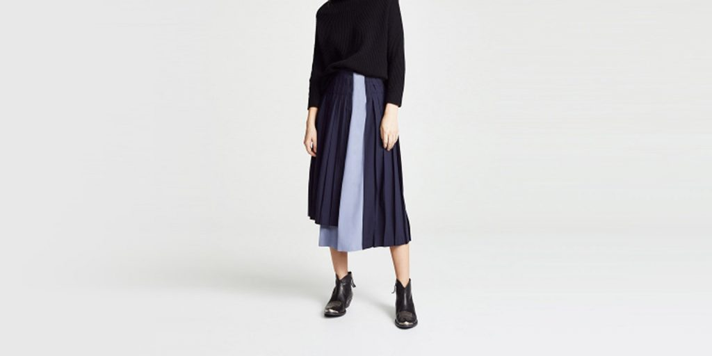 модные тенденции 2019 года: Плиссировка