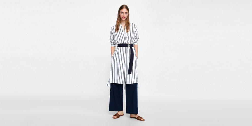 модные тенденции 2019 года: Сочетание платья и брюк