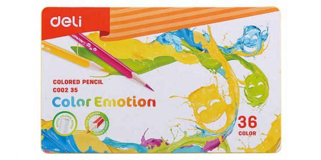 Что подарить другу на Новый год: набор карандашей