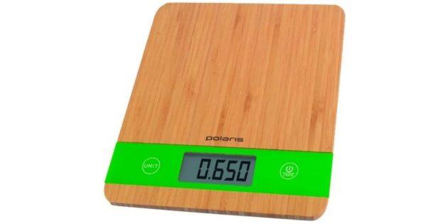 Что подарить другу на Новый год: кухонные весы