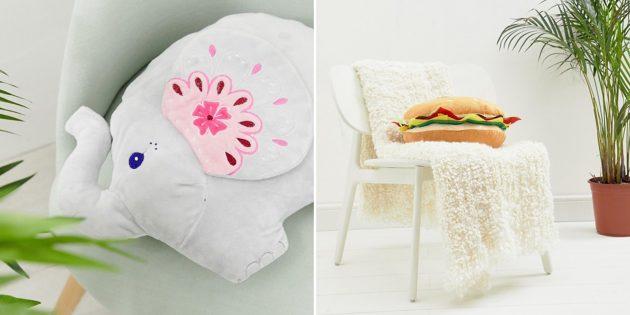 Оригинальные подарки на Новый год: подушка