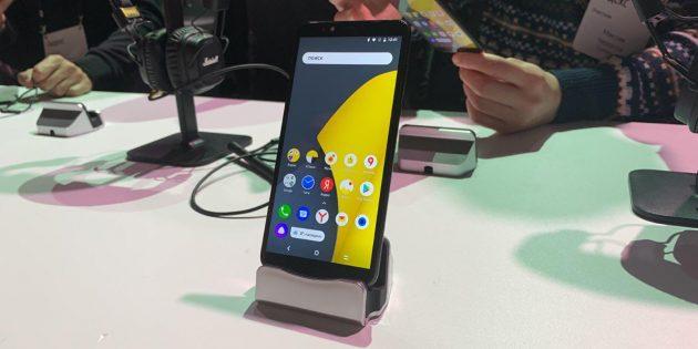 «Яндекс» официально представила собственный смартфон — «Яндекс.Телефон»