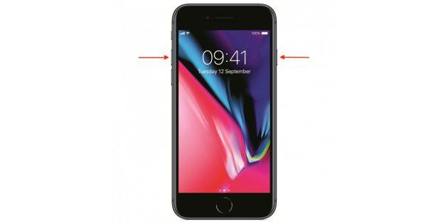 Как перезагрузить айфон: iPhone 8