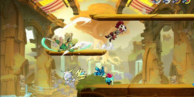 Бесплатные игры для PlayStation 4: Brawlhalla