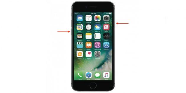 Как перезагрузить айфон: iPhone 7