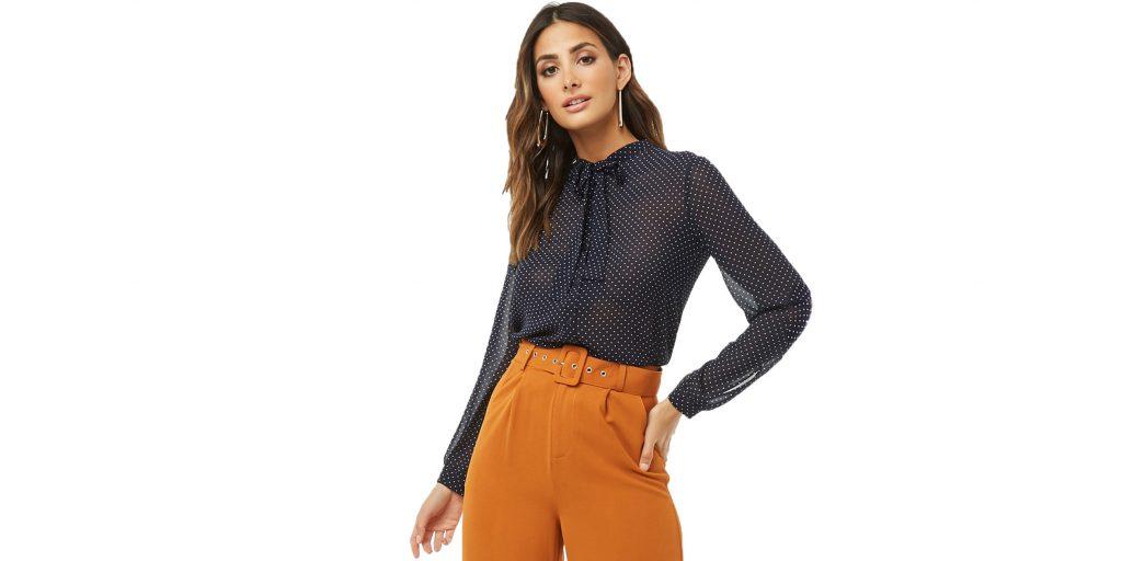 модные тенденции 2019 года: Оранжевый цвет
