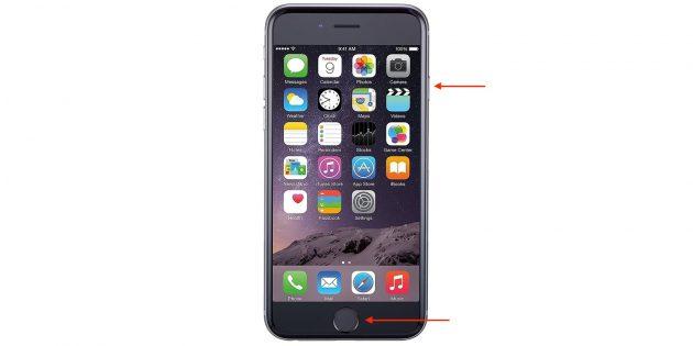 Как перезагрузить iPhone 6s и 6