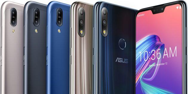Asus представила недорогие смартфоны с аккумуляторами на 4 000 и 5 000 мА·ч