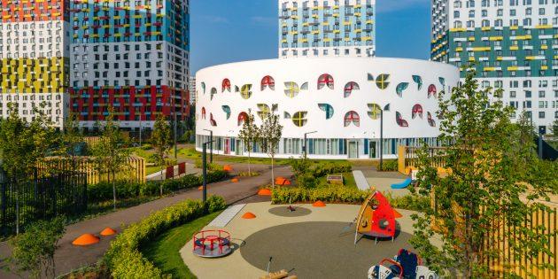 лучший детский сад: Детская площадка