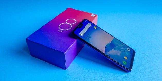 Обзор Xiaomi Mi 8 Lite: Коробка