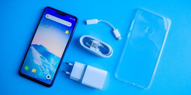 Обзор Xiaomi Mi 8 Lite: Комплектация