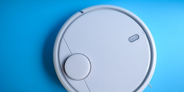 Xiaomi Mi Robot Vacuum: Вид сверху