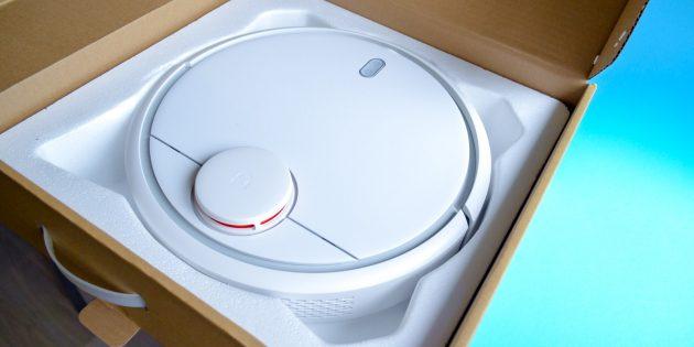 Xiaomi Mi Robot Vacuum: Упаковка