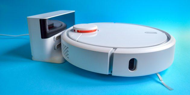 Xiaomi Mi Robot Vacuum: Подзарядка