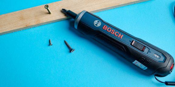 Обзор Bosch GO — удобной электроотвёртки, которая должна быть в каждом доме