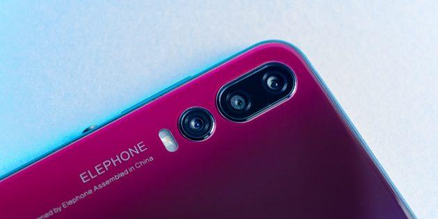Elephone A5: Камера