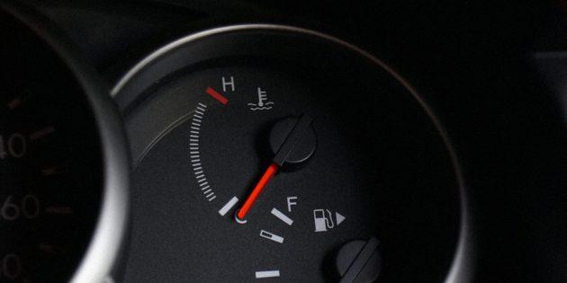 нужно ли прогревать двигатель зимой: Датчик температуры