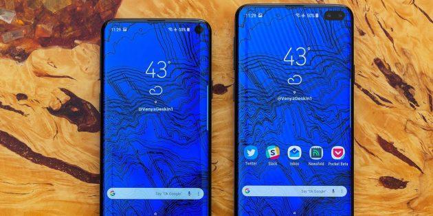 Смартфоны 2019года: Samsung Galaxy S10Lite и Galaxy S10Plus