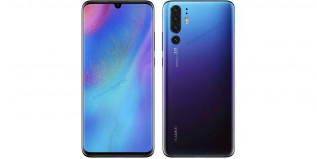 Смартфоны 2019года: HuaweiP30