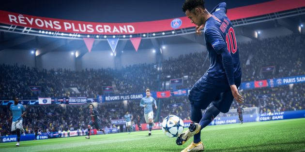 Игры 2018года для простых компьютеров: FIFA 19