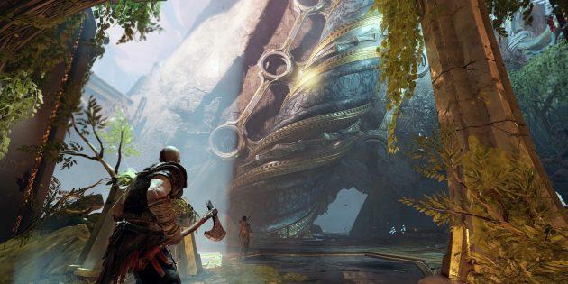 Почему стоит купить PS 4: шикарные эксклюзивы (God of War)