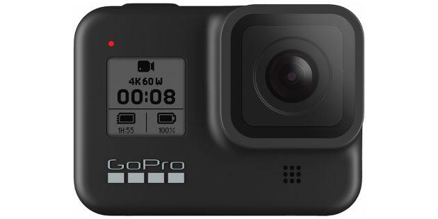 Что подарить на Новый год: GoPro Hero8Black