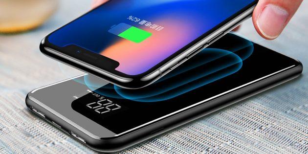 Лучшие пауэрбанки 2018года: Baseus Wireless Charger Power Bank