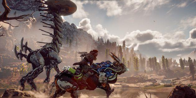 Захватывающие игры для PlayStation 4: Horizon Zero Dawn