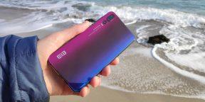 Обзор Elephone A5 — пятикамерного смартфона с градиентной стеклянной спинкой