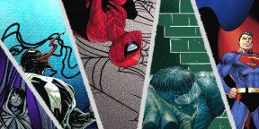 Лучшие комиксы Marvel и DC 2018 года: от 80-летия Супермена до мемов с Веномом