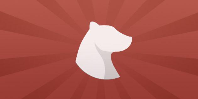 Как эффективно работать взаметочнике Bear