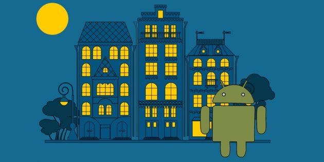 Как включить ночной режим в приложениях Google на Android