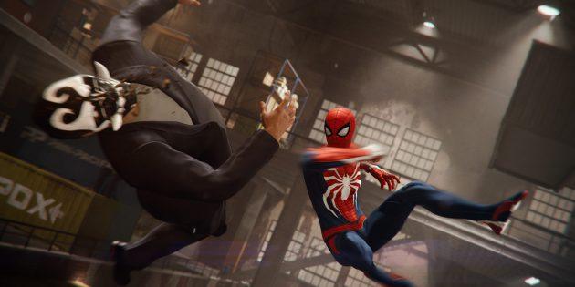 Захватывающие игры для PlayStation 4: Marvel's Spider-Man