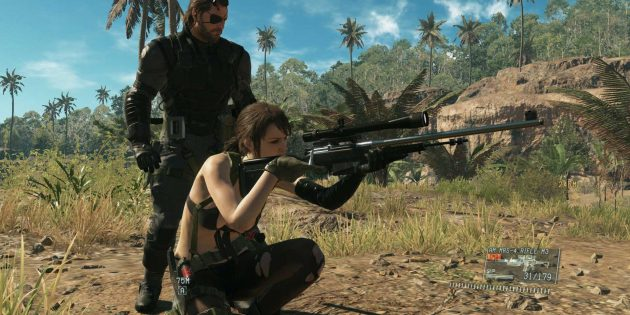 Захватывающие игры для PlayStation 4: MGS V