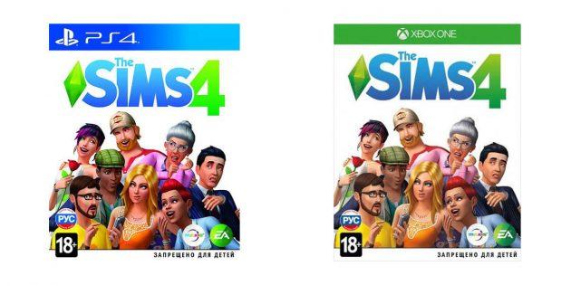 Подарки на Новый год: Sims 4