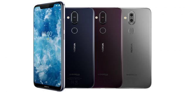 Nokia 8.1: внешний вид