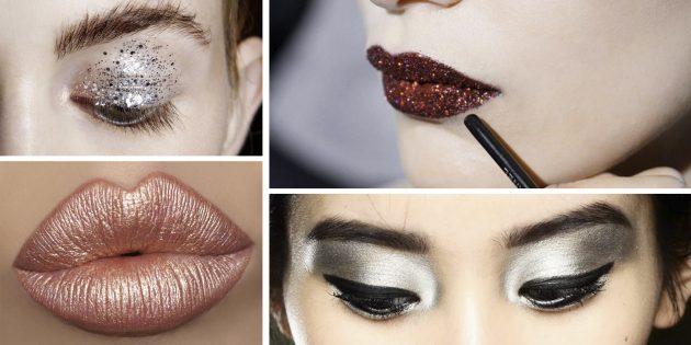 Новогодний макияж: 6 модных идей, которые заставят вас блистать