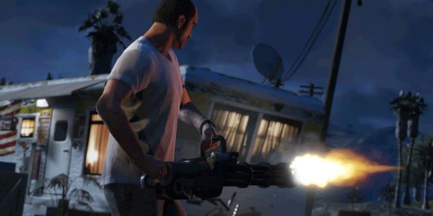 Захватывающие игры для PlayStation 4: GTA V