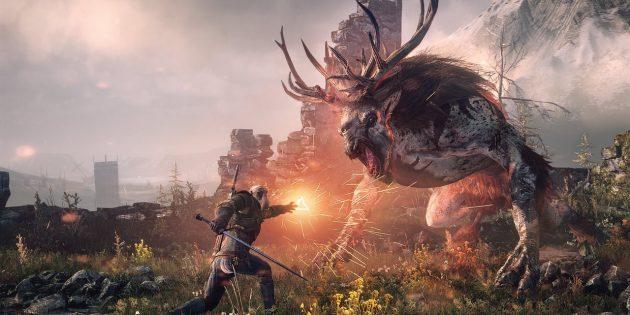 Захватывающие игры для PlayStation 4: The Witcher 3