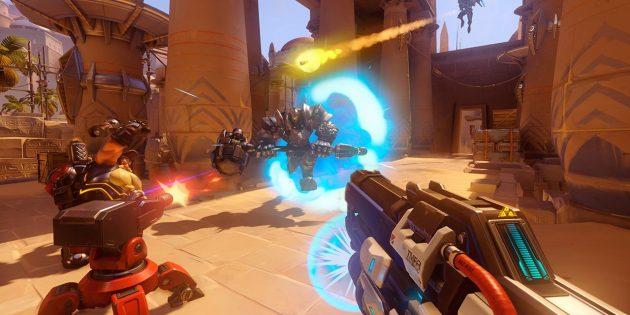 Захватывающие игры для PlayStation 4: Overwatch