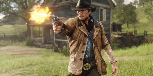 Захватывающие игры для PlayStation 4: RDR 2