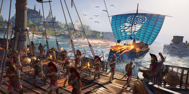 Захватывающие игры для PlayStation 4: AC Odyssey