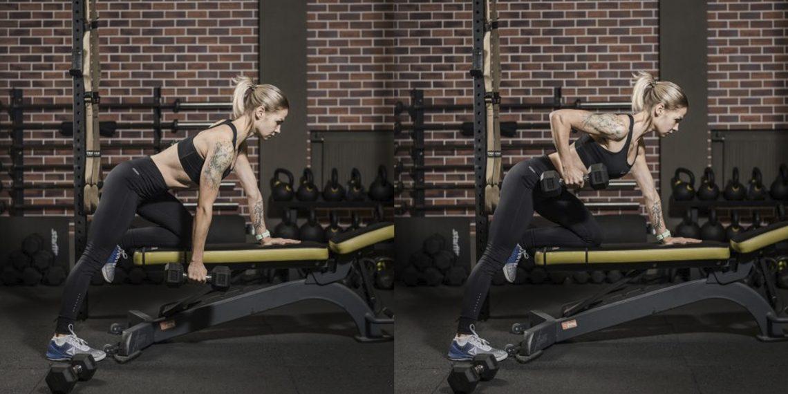 30 упражнений с гантелями для тех, кто хочет прокачать всё тело