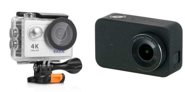 Подарки любимому на Новый год: Экшен-камера