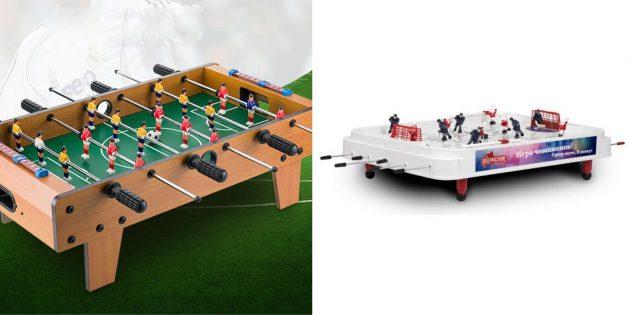 подарки любимому на новый год: Настольные спортивные игры
